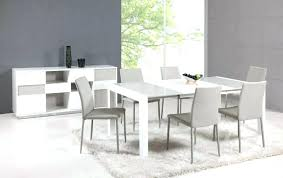 double extending dining table modern white chairs all l shaped breakfast set outstanding dining room decoration