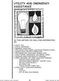urrd telephone assistance programs energy providers and their assistance programs arizona public