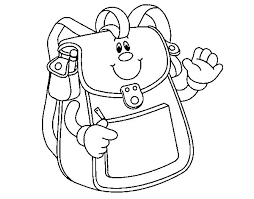 Small Picture School Backpack coloring page Coloringcrewcom