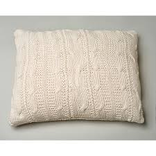 micah knitted sham natural dutch euro