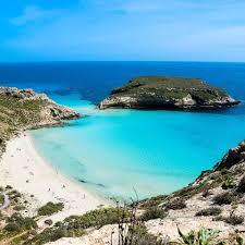 Italiait The Breathtaking Rabbit Island In Lampedusa Facebook