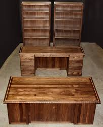 custom made office desks. custom solid wood office furniture made desks