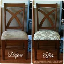 fabric dining room chairs redo recover wooden with arms upholstered best free home design idea inspiration