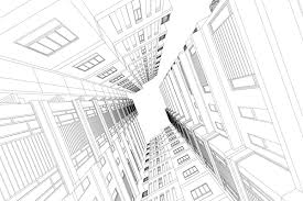 architectural drawings of skyscrapers. Brilliant Skyscrapers Skyscrapers Structure Architecture Vector Illustration And Architectural Drawings Of Skyscrapers G