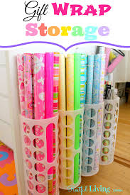 I Added  Gift Wrap Storage Container F19