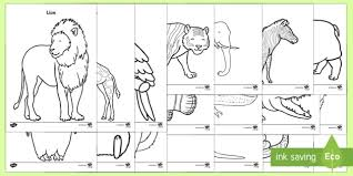 Zoo Animals Colouring Pages Eyfs Early Years At The Zoo Animals