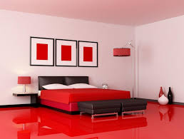 superb designing red and white bedrooms decorating room
