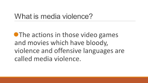 violent video games essay essay on video game violence gxart how media violence violent video games and x rated movies what is media violence the actions