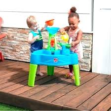 step 2 water table spill splash seaway 3 with the ad includes and wall play set duck pond seaside showe