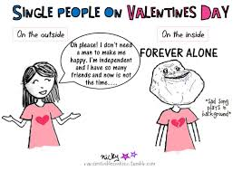 Single People In Valentines Day