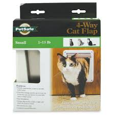4-Way Locking Cat Door by PetSafe - P1-4W-11