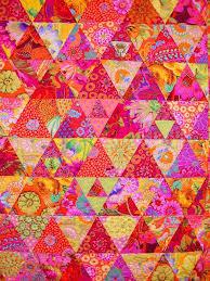 119 best Quilts - Kaffe Fassett images on Pinterest   Patchwork ... & Kaffe Fassett quilt- Toes in the Sand pattern Adamdwight.com