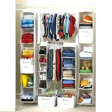 double hanging closet organizer s hang bed bath beyond