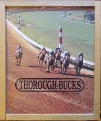 Wooden Horse Race Board Game Vintage Wooden Horse Racing Board Game Thoroughbucks Ultimate 61
