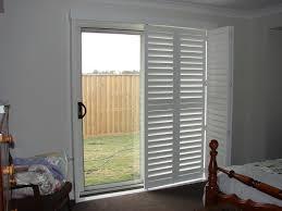 plantation shutters for sliding glass doors design