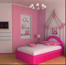 Pink Bedroom For Teenager Paint Colors For Little Girls Bedroom Smooth Beige Fur Rug Paired