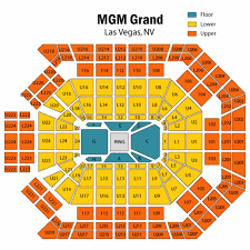 Credible Mgm Garden Arena Seating Mgm Grand Seating Capacity
