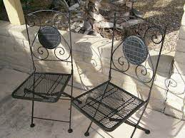 vintage woodard patio furniture set