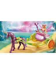 Расписанный Единорогами сказочный экипаж Феи. Playmobil ...