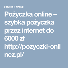 Pożyczka online – szybka pożyczka przez internet do 6000 zł http ...