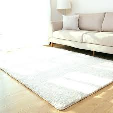 soft white rug for nursery best of and living room area solid carpet fluffy home decor