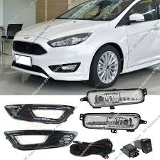 Ford Focus Fog Lights Switch Details About For Ford Focus 2015 2018 Fog Lights K Harness Switch Bezels Kit Sport Version