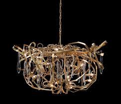 delphinium customised gold chandelier by brand van egmond chandeliers