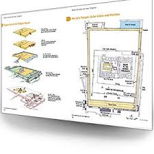 Rose Guide To The Tabernacle With Clear Plastic Overlays And
