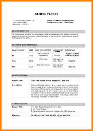 8 Biodata Format For Teachers Job References Format