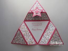Origami Star Card Kate Morgan Independent Stampin Up