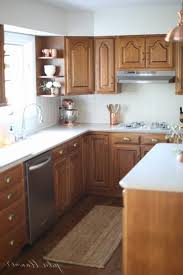 Updating Oak Kitchen Cabinets Without Painting Archives Painting