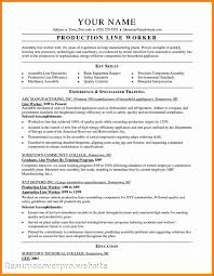 Assembler Resume Samples Assembly Resume Shalomhouseus 10