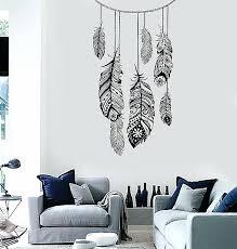 chandelier vinyl wall decal a dream catcher en wall vinyl decal dream catcher ethnic by wall