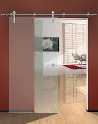 office sliding doors. Single Frosted Glass Sliding Door For Small Home Office Design With Red Wall Interior Color Decor Plus Laminate Floor Tiles Ideas Doors L