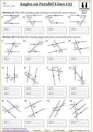 Geometry Worksheets And Help Pages By Math Crush Angles 4th Grade ...