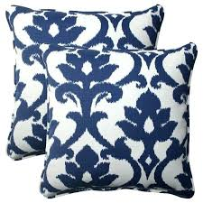 pillow perfect outdoor cushions navy outdoor cushions pillow perfect navy outdoor corded inch throw pillows set pillow perfect outdoor cushions
