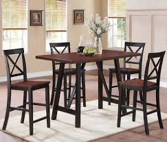 image of beautiful bar height folding table