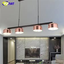 light gold living room fumat modern brand design pendant lamp indoor lightings