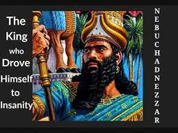 Image result for pictures of nebuchadnezzar crazy