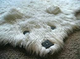 fake bear skin rug with head faux bear rug the faux gy long pile bearskin rug