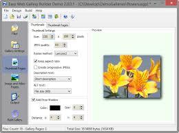 create thumbnail galleries