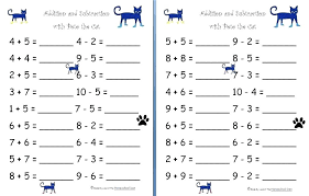 Simple Addition For Kindergarten Addition And Subtraction Worksheets ...