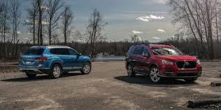 2019 Subaru Ascent Vs 2019 Volkswagen Atlas Three Row