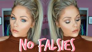 everyday makeup tutorial without false lashes