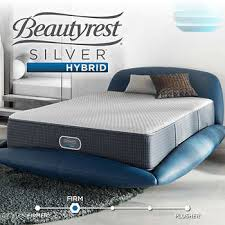 beautyrest simmons. Simmons Beautyrest Maxwell Silver Hybrid Firm Cal King Mattress Set