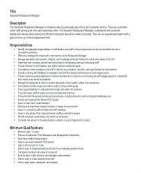 Restaurant Manager Resume Template Cool Resume Samples For Customer Service Resume Tutorial