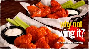 round table wings nutrition ideas