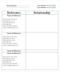 How To Write Reference Page For Resume Example Of Resume References ...