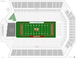 Razorback Football Stadium Seating Chart Mississippi State University Football Stadium Seating Chart