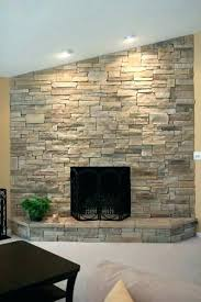 stack stone fireplace pictures stacked cost dry ledge fireplaces traditional living outdoor designs